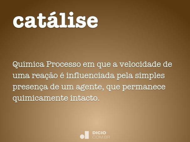 cat�lise