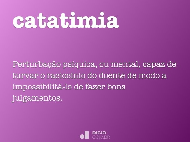 catatimia