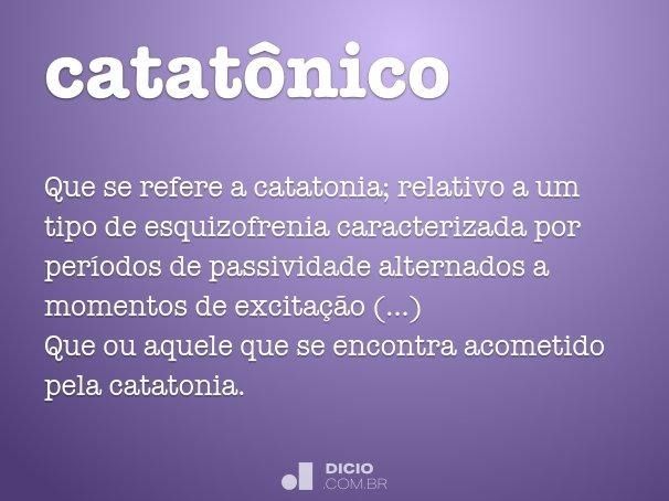 catat�nico