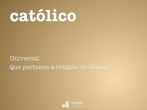 cat�lico