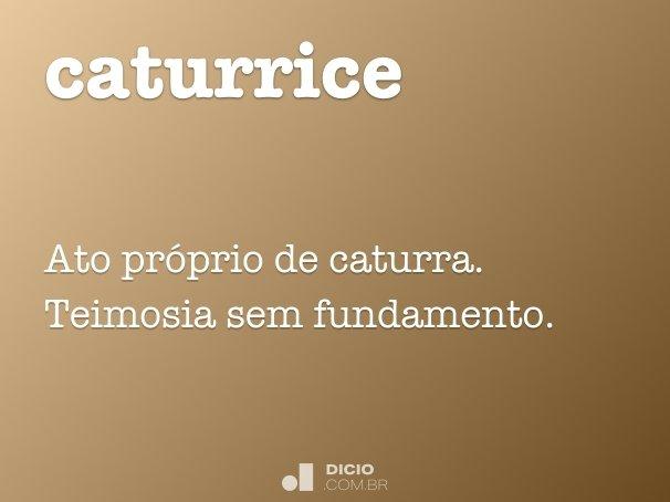 caturrice