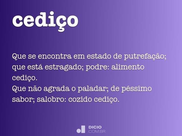 cedi�o