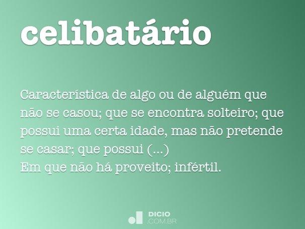 celibat�rio