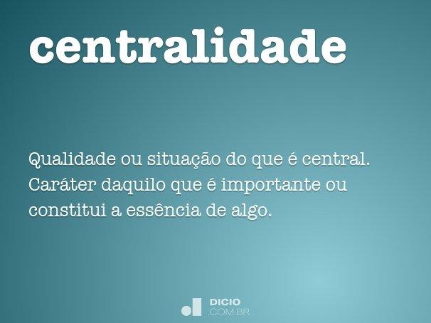 centralidade