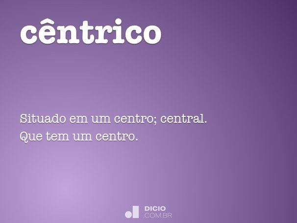 cêntrico