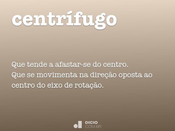 centrífugo