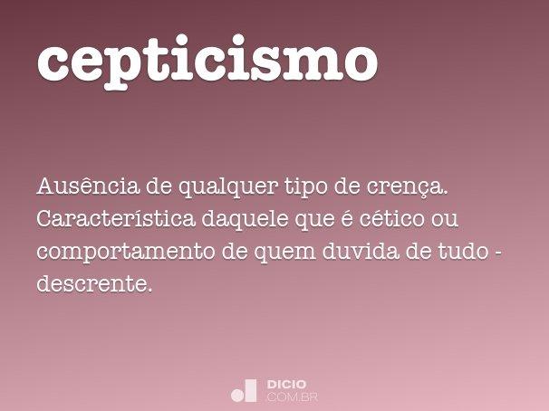 cepticismo