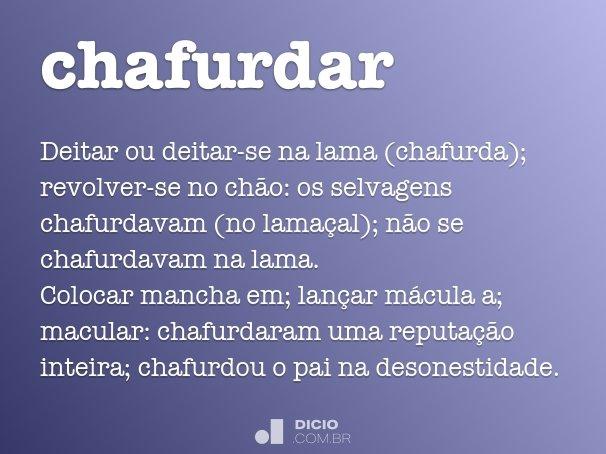 chafurdar