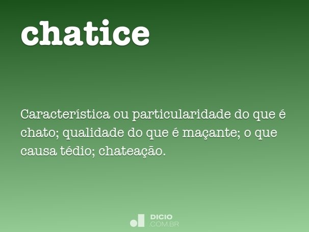 chatice