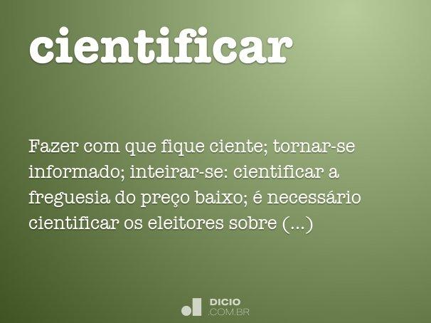 cientificar