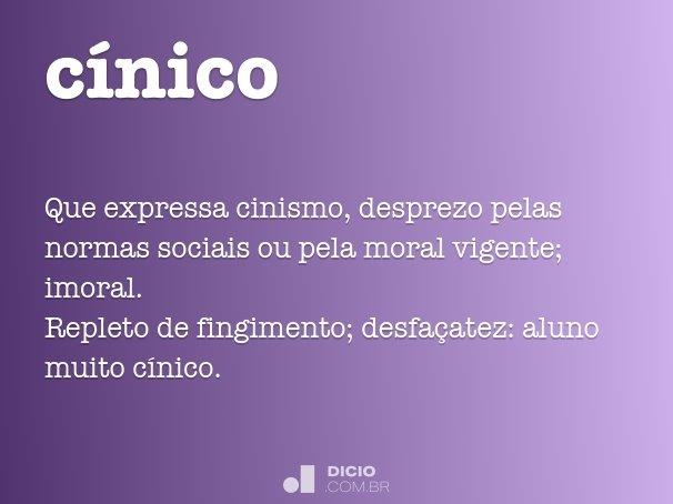 cínico