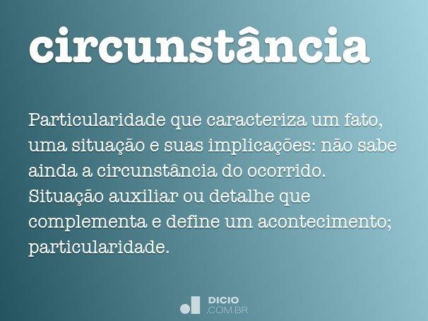 circunstância