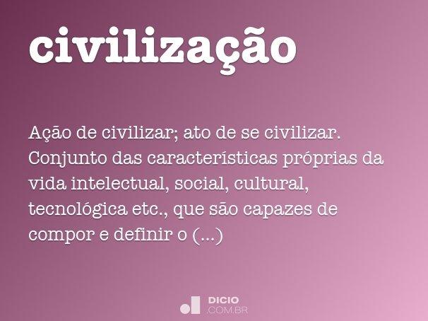 civiliza��o