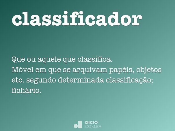 classificador