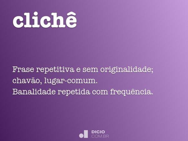 clich�