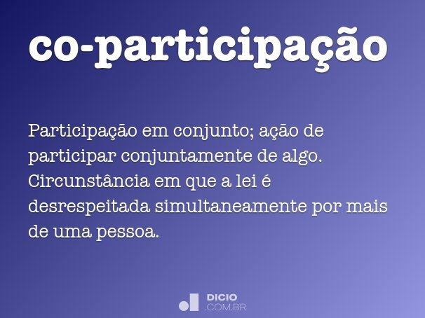 co-participa��o