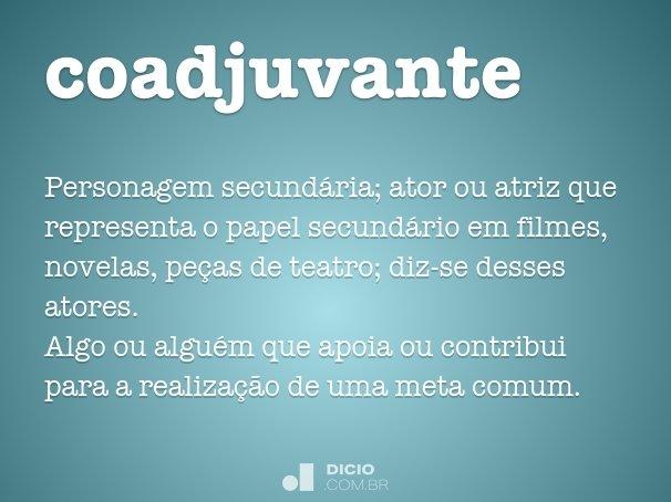 coadjuvante