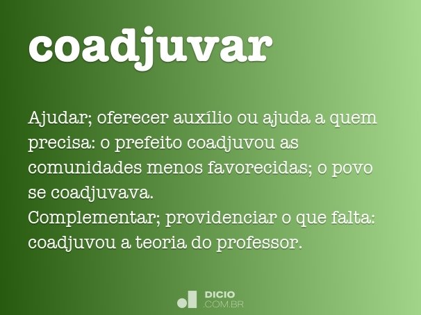 coadjuvar