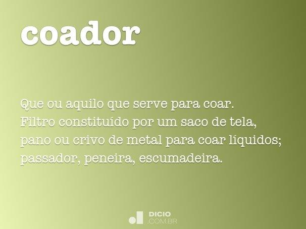 coador
