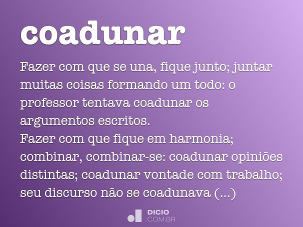 coadunar