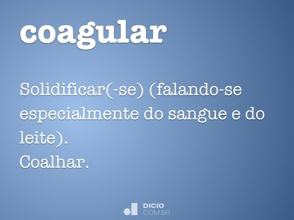 coagular