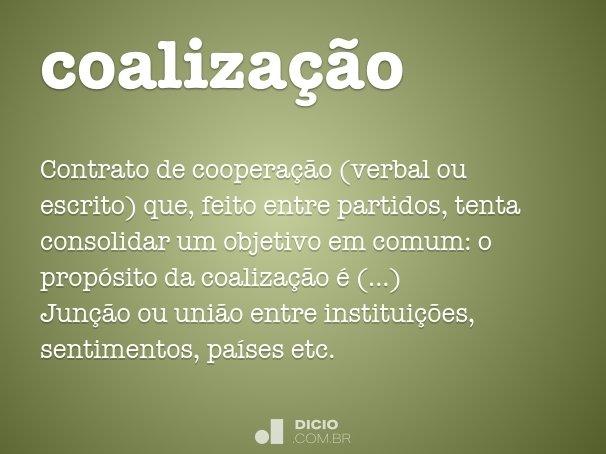 coaliza��o