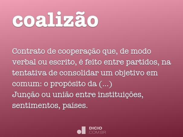 coaliz�o