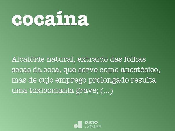 coca�na