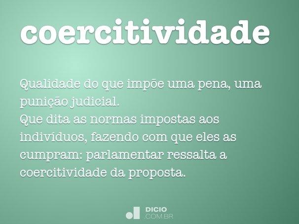 coercitividade