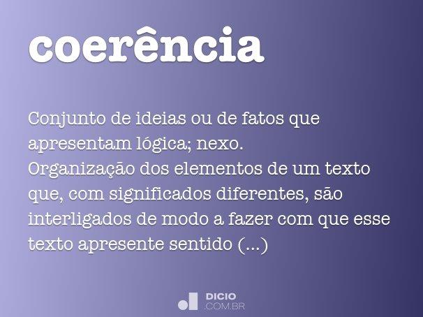 coer�ncia