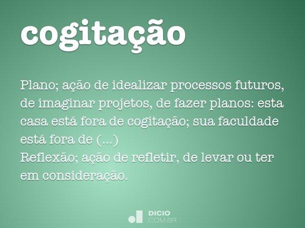 cogita��o