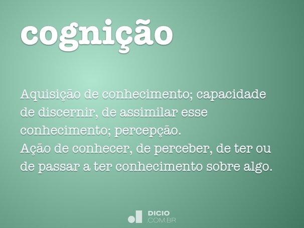 cogni��o