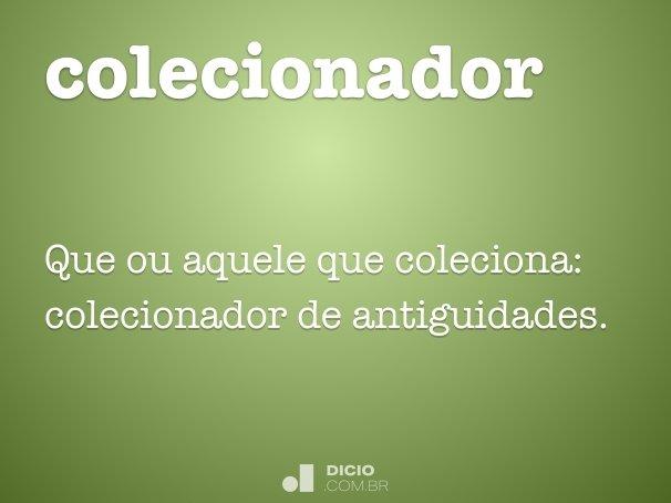colecionador