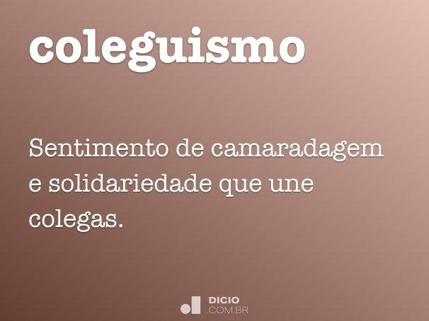coleguismo