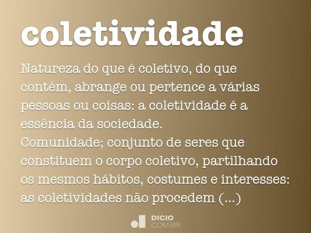 coletividade