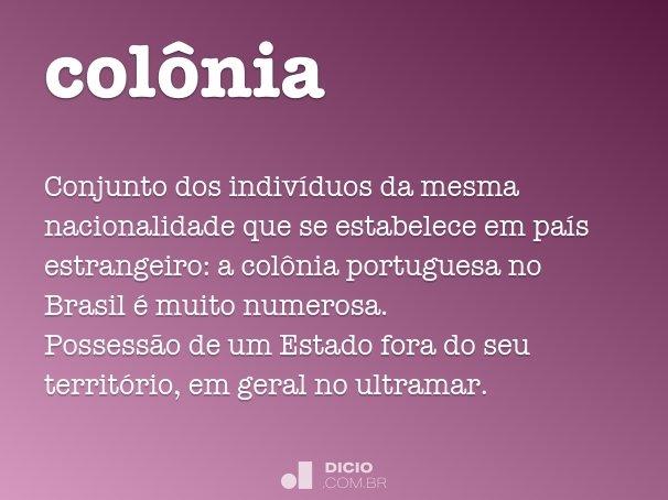 col�nia
