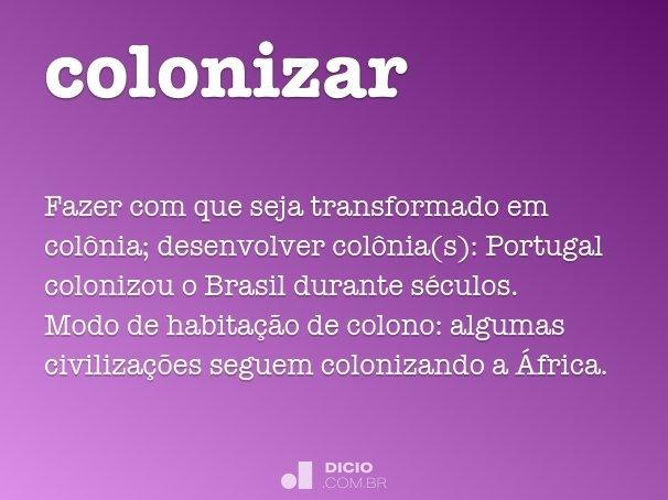 colonizar