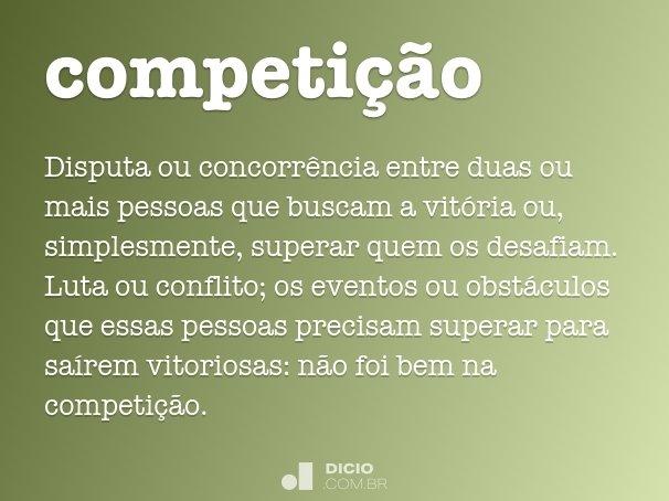 competi��o