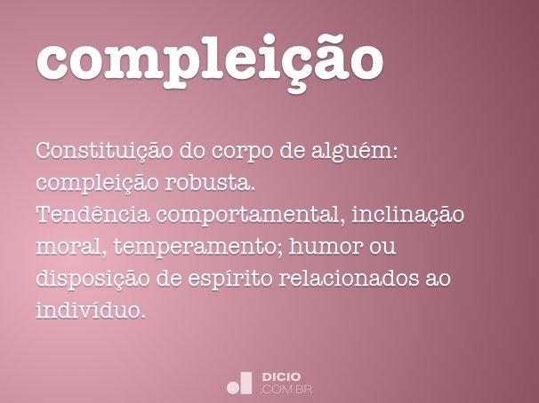compleição
