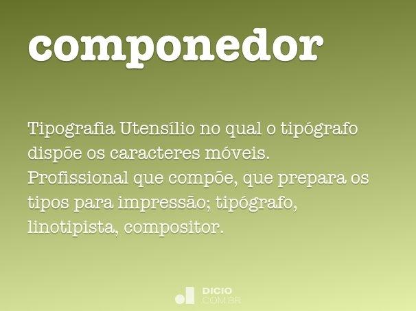componedor