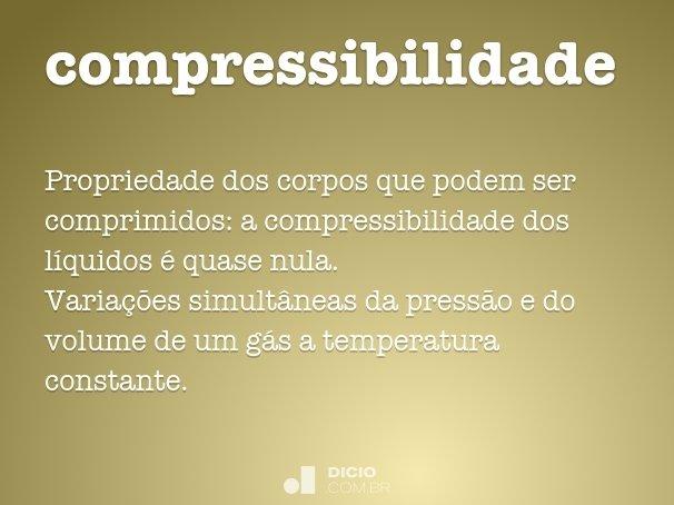 compressibilidade