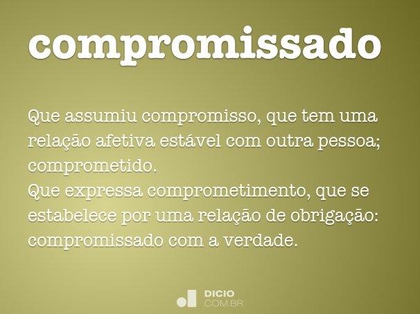 compromissado