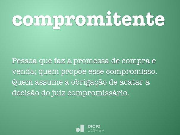 compromitente