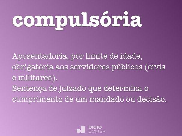 compuls�ria