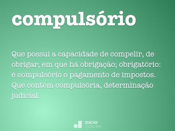 compulsório