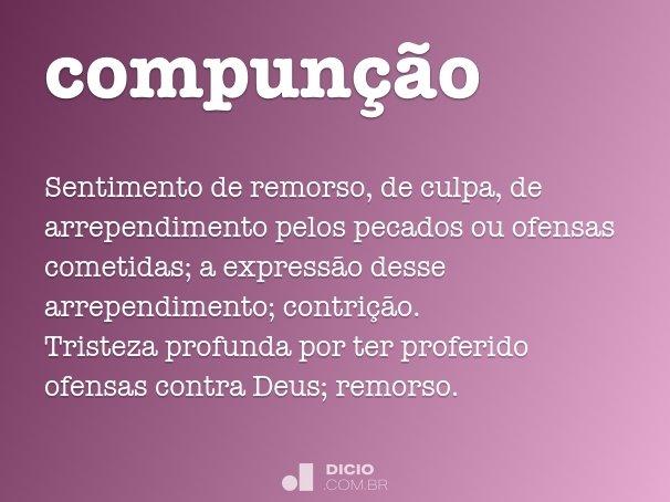 compunção