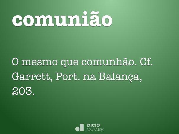 comuni�o