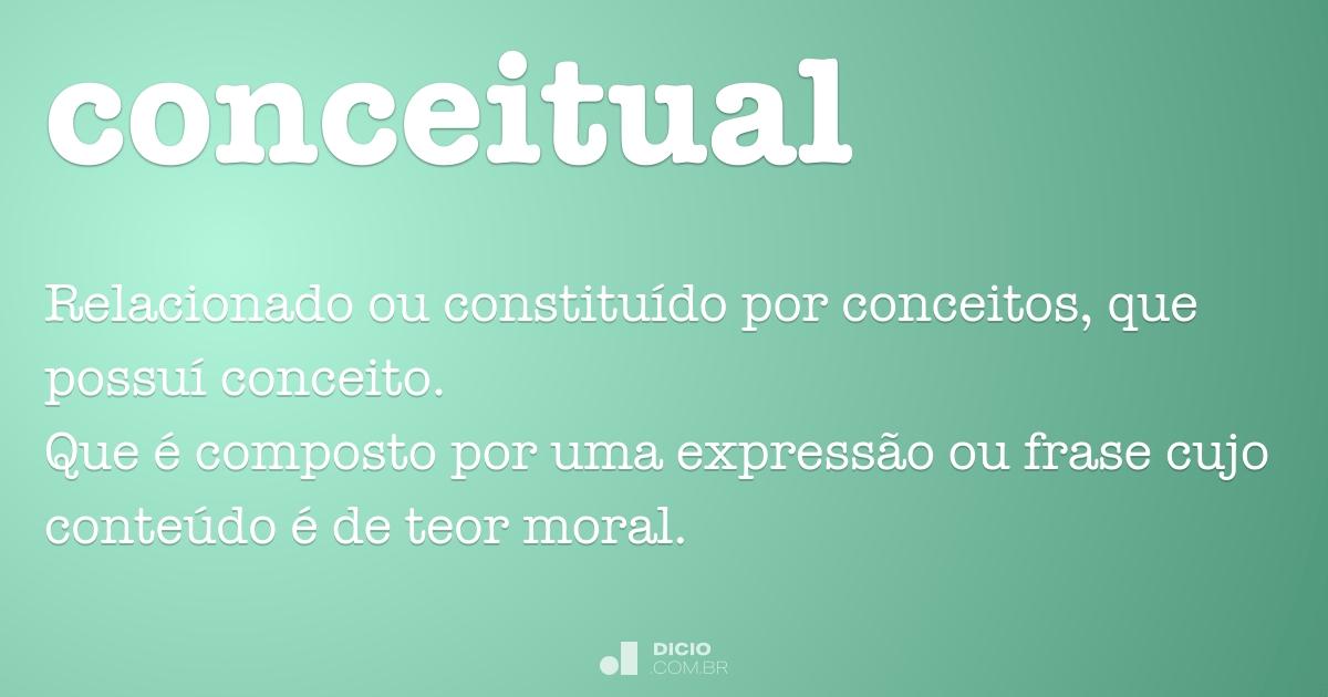 Conceitual Dicio Dicionário Online De Português