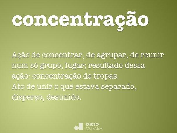 concentra��o