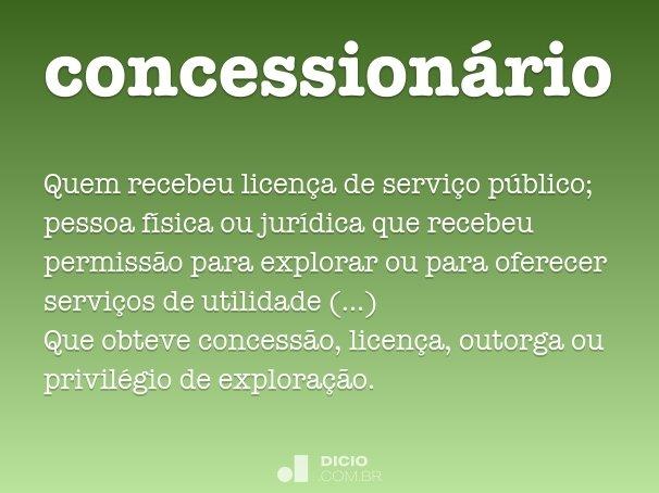 concession�rio